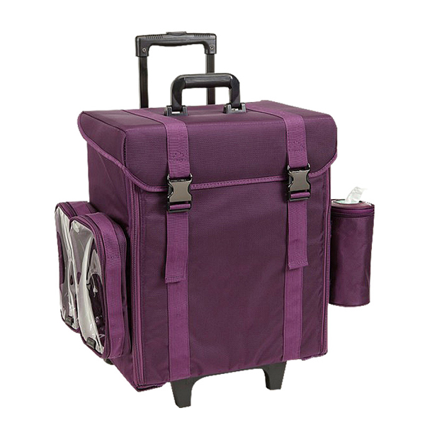 Professional Soft Sided Nylon Cosmetic Trolley Case