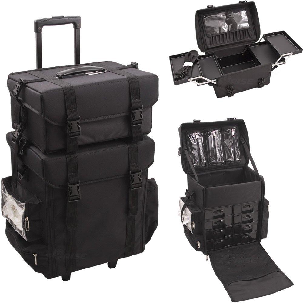 Nylon Trolley Makeup Case Carre