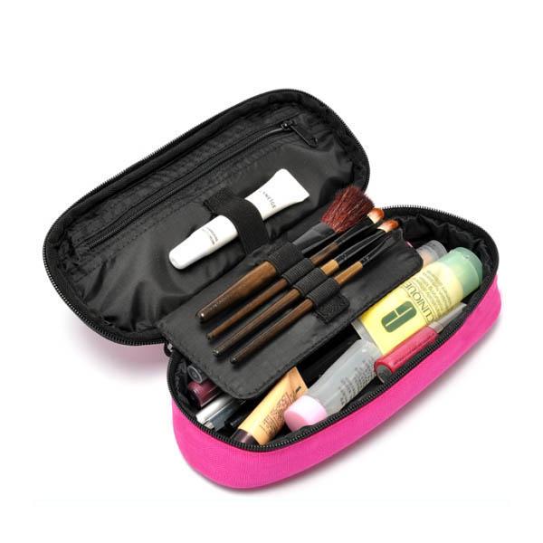 Mini Travel Makeup Brush Cosmetic Bag Case Bb5032