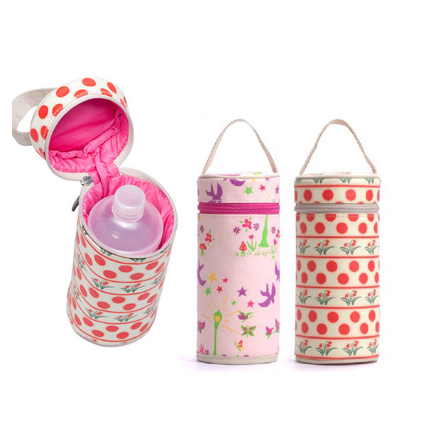 Waterproof Canvas Single Bottle Baby Warmer Bag Cl5110