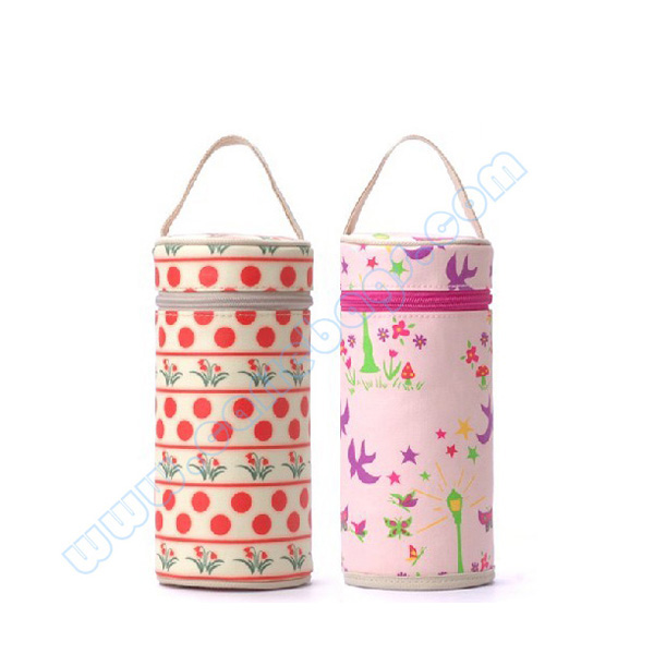 Waterproof Canvas Single Bottle Baby Warmer Bag Cl5110 Carre