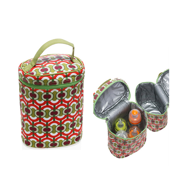 Monogram Canvas Insulated Tote 4 Bottle Cooler Baby Bag Cl5131 Carre
